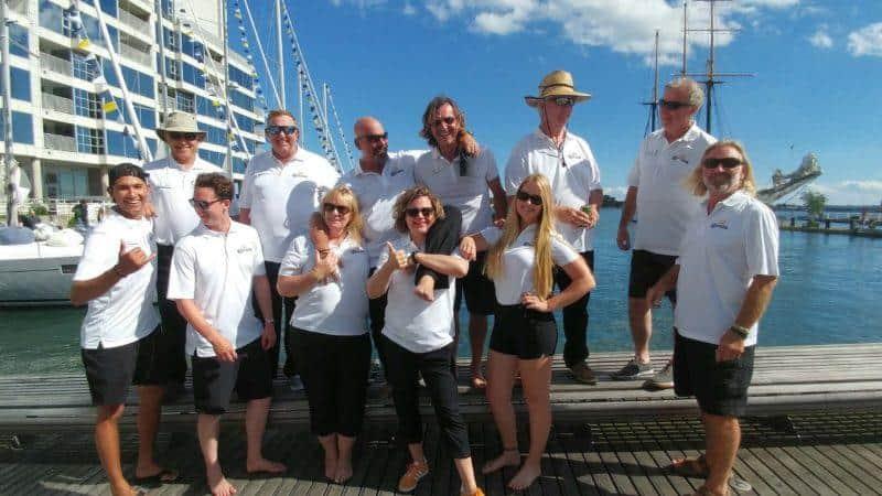 gone sailing adventures staff toronto