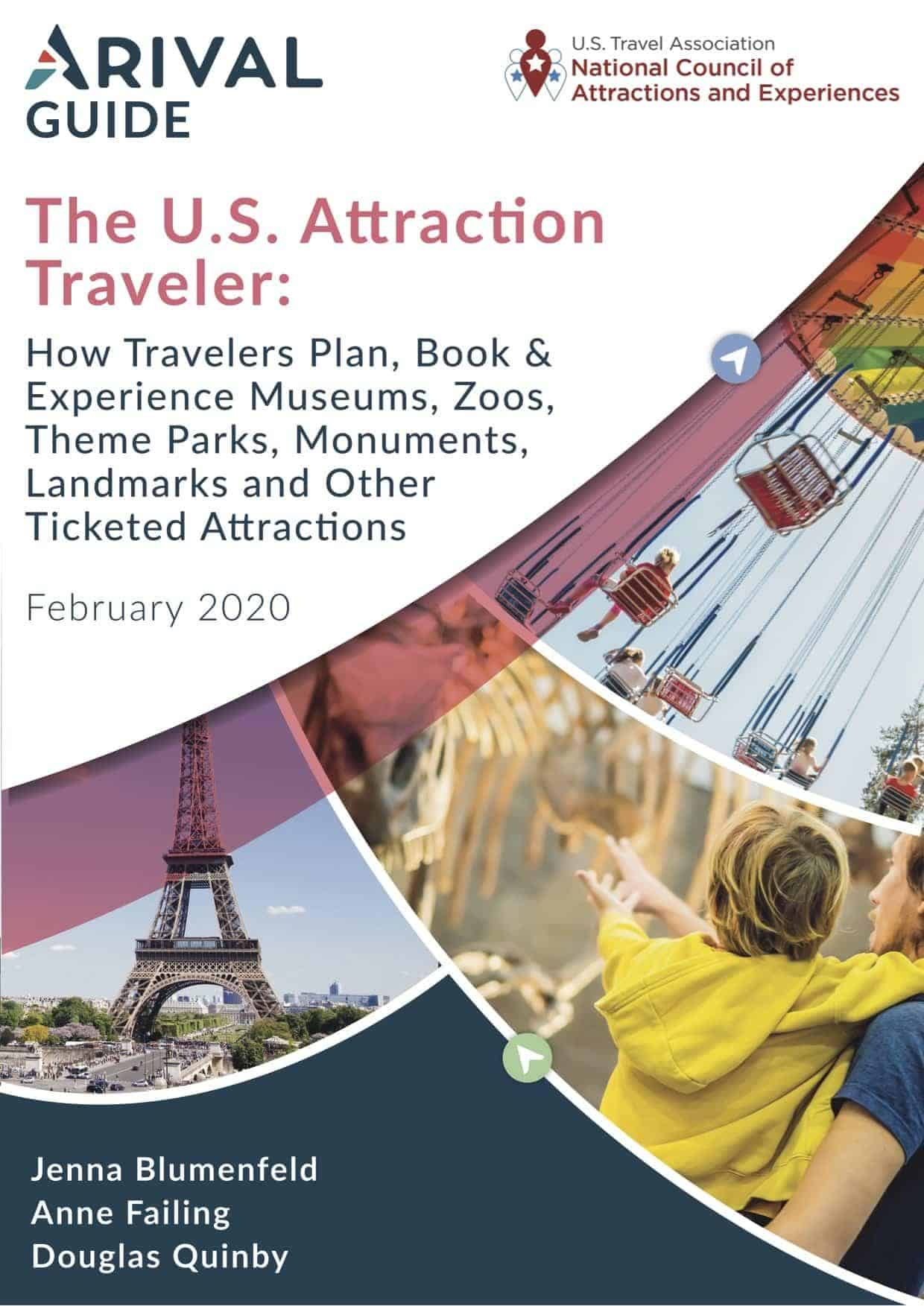 Arival Guide U.S. Attraction Traveler Cover Image