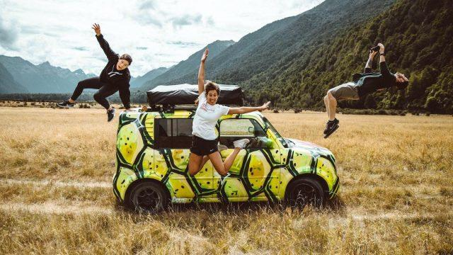 New Zealand-driving tour
