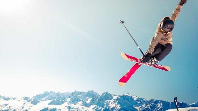 Sking - jump - winter - adventure